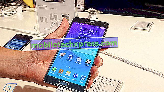 Erreur de mise à jour du logiciel Samsung Galaxy Note 4