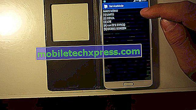 Come correggere i problemi di Samsung Galaxy Note 4 No Signal