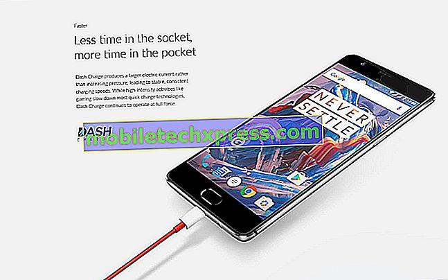 OnePlus 3 přichází s technologií rychlého nabíjení společnosti Oppo