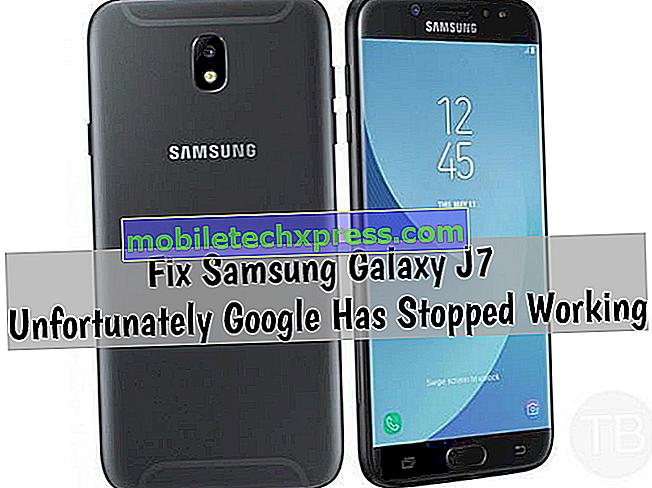 Samsung Galaxy J7 Desafortunadamente, Google ha dejado de resolver problemas y otros problemas relacionados