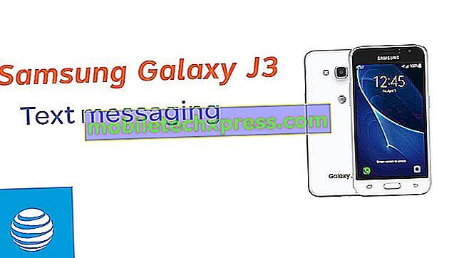 Jak opravit Samsung Galaxy J3 textové zprávy nejsou zasílány