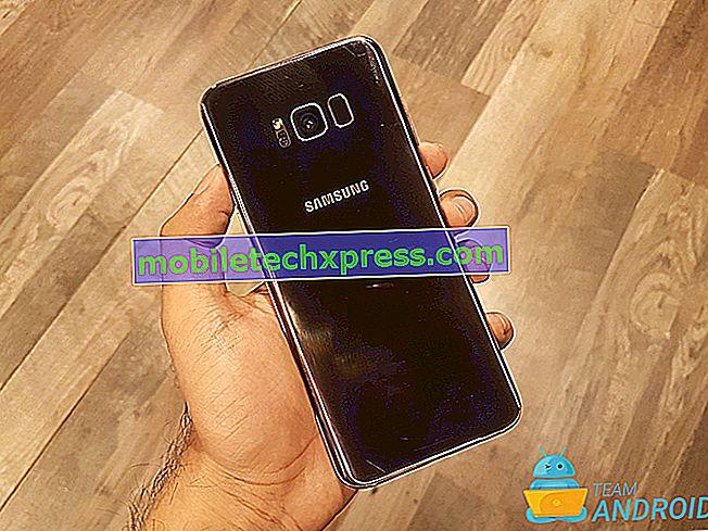 Samsung rešil Samsung Galaxy S8 račun Samsung ustavil napako