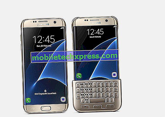 Galaxy S7-Tastaturproblem beim horizontalen Tippen, andere Probleme