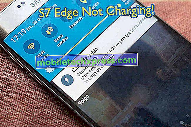 Samsung Galaxy S7 vil fortelle deg om ikke å lade telefonen når den er våt