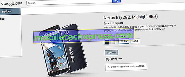 Google ouvrira les précommandes des nouveaux téléphones Nexus le 13 octobre