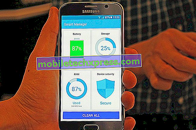 Samsung Galaxy S6 Edge Plus Tutorial: Kako upravljati porabo baterije z Smart Manager App