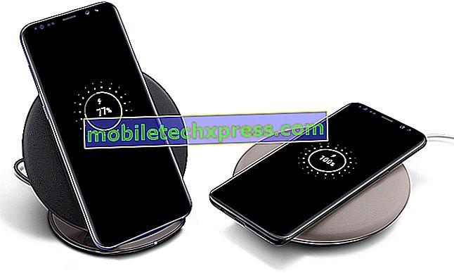 Samsung Galaxy S8 + Overoppheting når den er koblet til lader