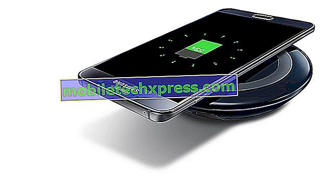 Galaxy Note 5 lädt nicht und lässt sich nicht wieder einschalten, andere Probleme