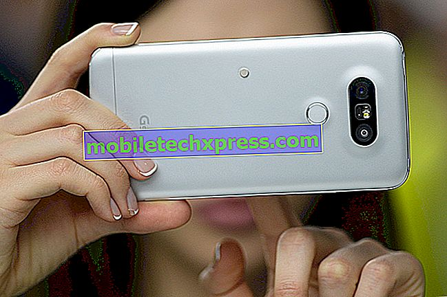 LG G5 nezapne problém a další související problémy