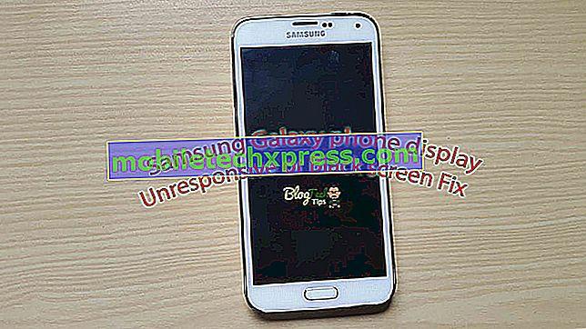 Sådan repareres Samsung Galaxy S4-skærmen flimrende, blank skærm og svar uden skærm