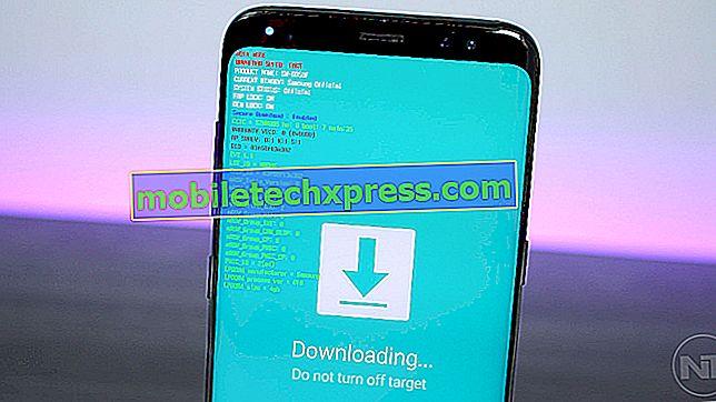 Samsung Galaxy S8 Plus tænder ikke efter softwareopdatering