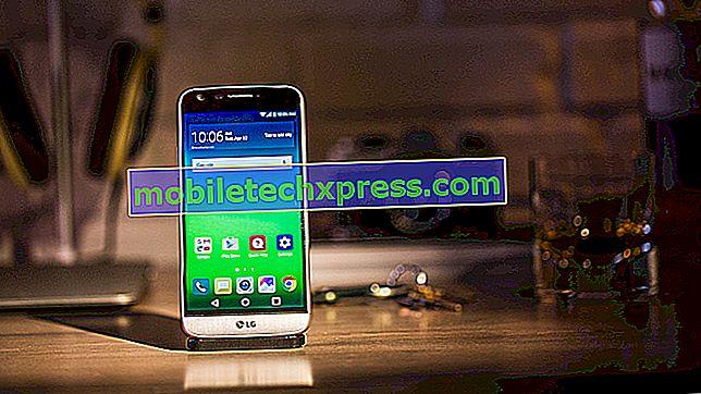 Fotoaparat LG G5 bo posneto po posodobitvi programske opreme