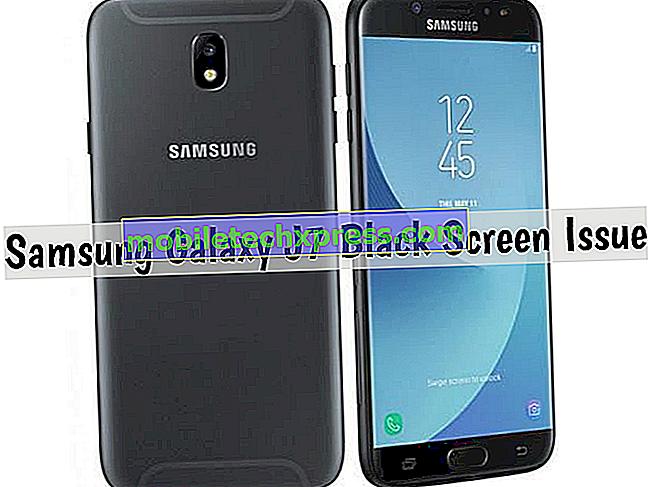 Como corrigir problema de tela preta Galaxy J7 Pro