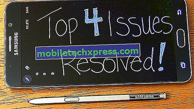Samsung Galaxy Note 4 Nessun problema audio e altri problemi correlati
