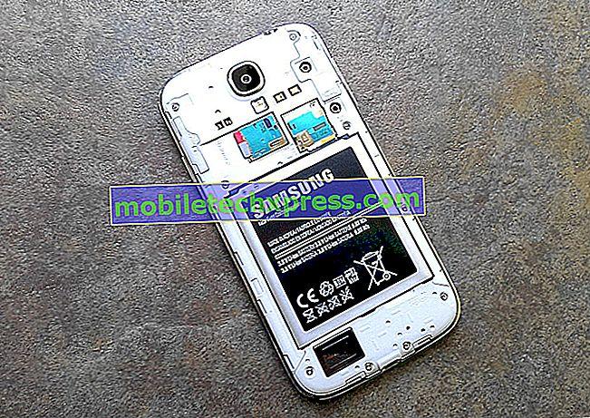 Das Samsung Galaxy S4-Display schaltet sich aus