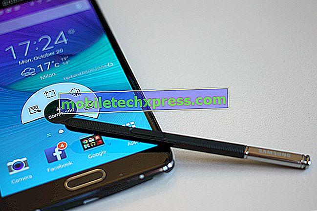 Dépannage du problème de l'application Facebook sur le Samsung Galaxy Note 4