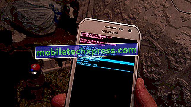 "Sådan repareres Samsung Galaxy S7 ""Serverfejl opstod.  Genstart venligst kameraet ""&"" Kamera mislykkedes ""fejl"