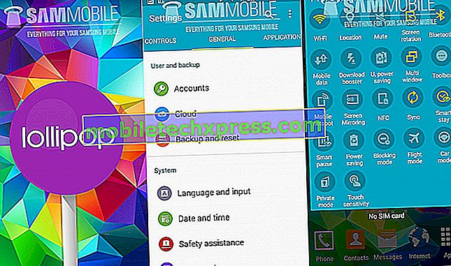 Galaxy S5 počasna izdaja uspešnosti po posodobitvi Lollipop, druga vprašanja