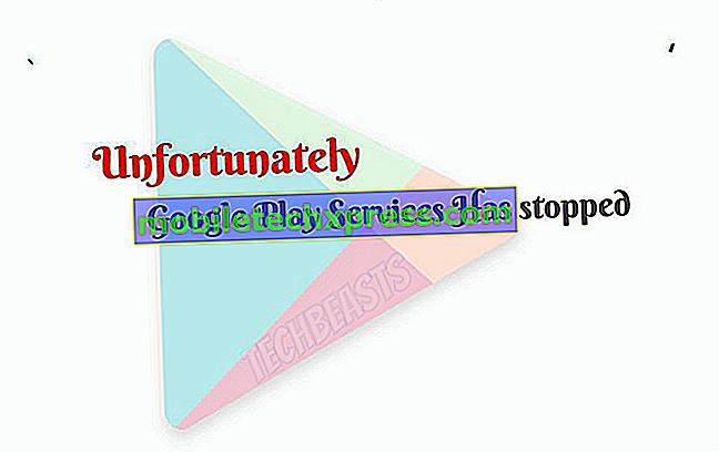 """Comment réparer Samsung Galaxy Note 5 """"Malheureusement, Google Play Store a arrêté 'erreur"""