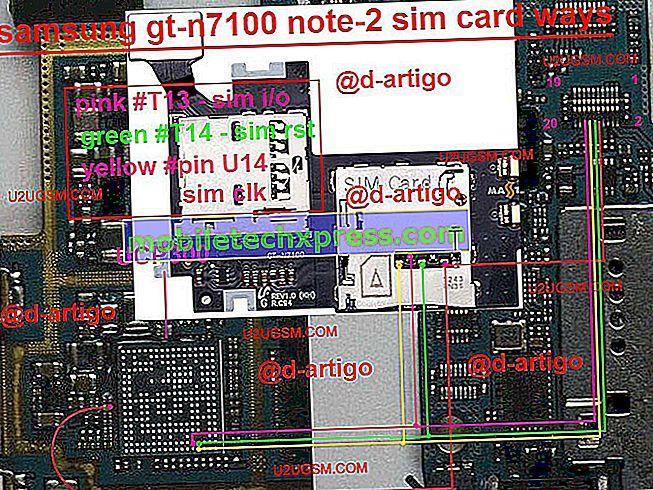 """""""Samsung Galaxy Note 2"""" ne """"Sim"""" klaidų sprendimai"""
