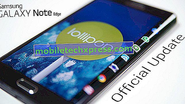T-Mobile Galaxy Note Edge nhận được bản cập nhật Android 5.0