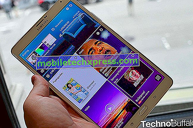 Samsung Galaxy Tab S 8.4 LTE na Verizon agora recebendo a atualização para o Android 5.0
