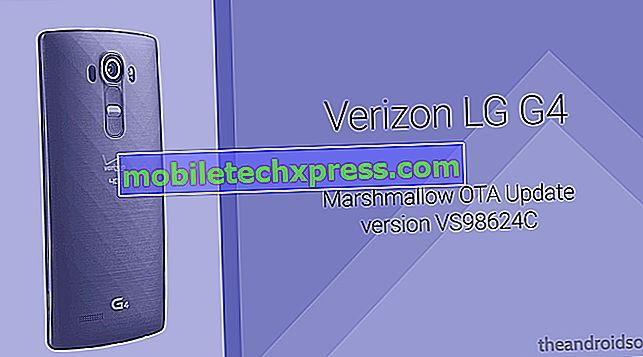 Verizon LG G4 erhält ein kleines Update