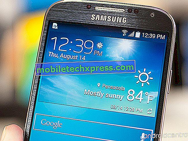 Sprint Galaxy Opomba 4 posodobitev zdaj prinaša tovarniške nastavitve zaščite