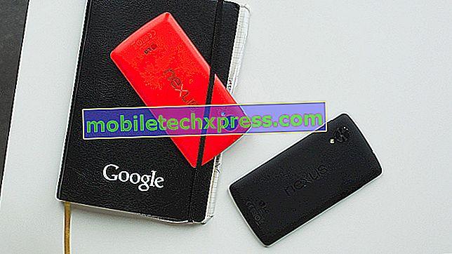 Google Nexus 5 fælles problemer og løsninger [Del 1]
