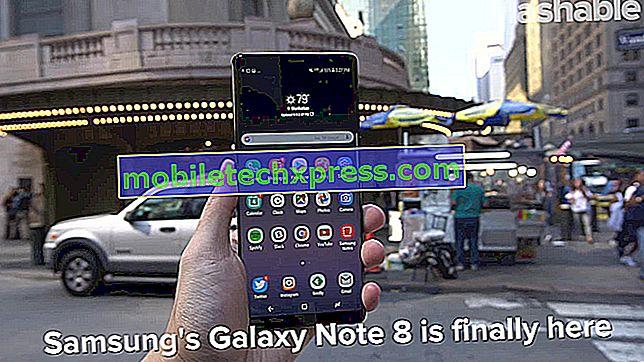 Samsung Galaxy Note 4 genstarter på eget emne og andre relaterede problemer