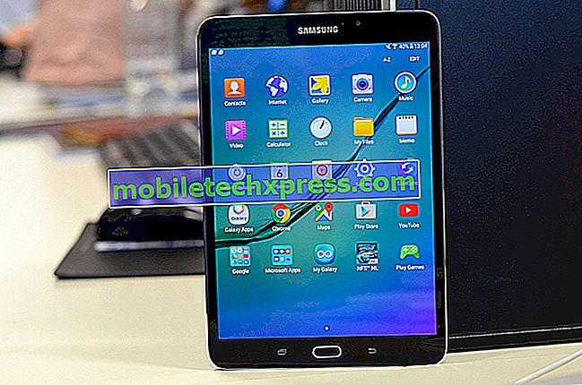 Verizon Galaxy Tab S2 wordt nu bijgewerkt naar Android 6.0
