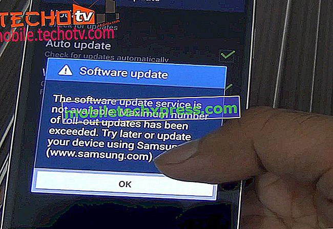 Samsung Galaxy S4 Impossible de mettre à jour le micrologiciel Android par liaison radio (OTA)