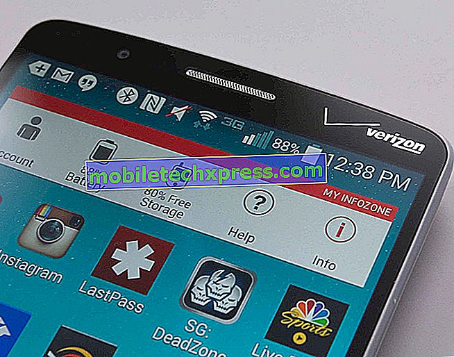 Verizon LG G3 ottiene un nuovo aggiornamento di Lollipop con correzioni di bug