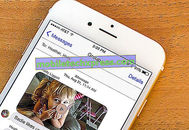 Kako popraviti napake pri pošiljanju sporočil Galaxy Note5: ne bodo pošiljali sporočil
