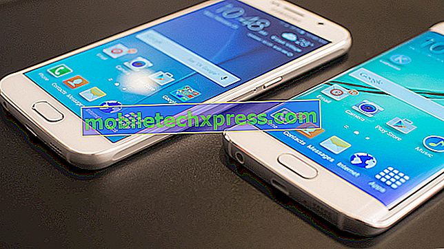 Hvad skal man gøre, hvis Galaxy S6 Edge ikke reagerer, andre problemer