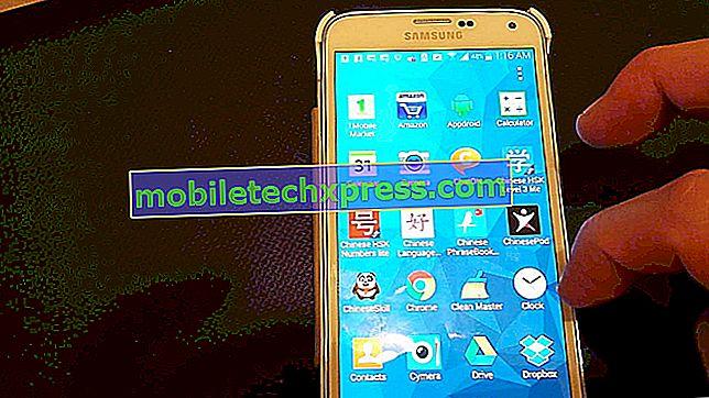 Samsung Galaxy S5 si blocca, si blocca, funziona lento problema