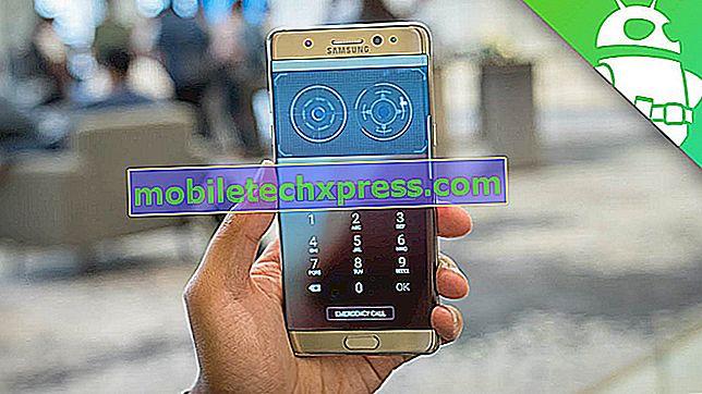 Kako popraviti Samsung Galaxy Opomba 9 Iris Scanner ustavil delo