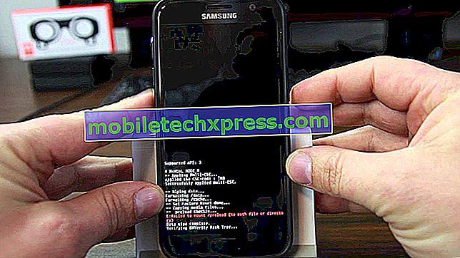 Jak tvrdé resetování na Samsung Galaxy S7 Edge