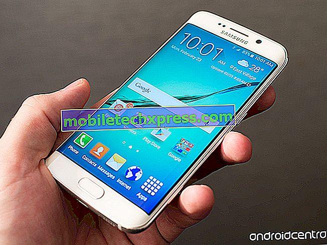 T-Mobile enviando pequenas atualizações para o Samsung Galaxy S6 e o Galaxy S6 edge