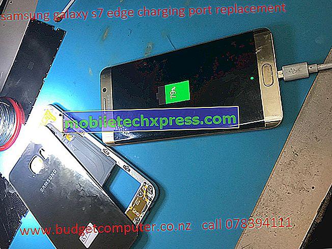 Samsung Galaxy S6 Edge Replacement Laddningsporten fungerar inte och andra relaterade problem