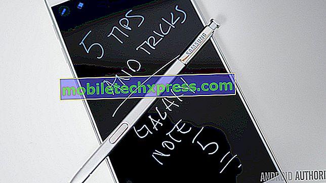 """Sådan repareres Samsung Galaxy Note 8 med """"Desværre har kameraet stoppet"""" fejl (nemme trin)"""