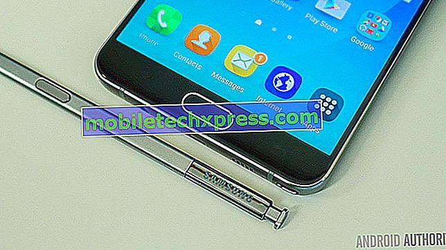 Samsung skickar ut en mindre uppdatering till Galaxy Note 5