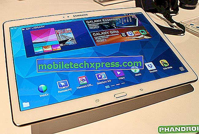 Samsung Galaxy Tab S 10.5 على Verizon للحصول على تحديث Lollipop
