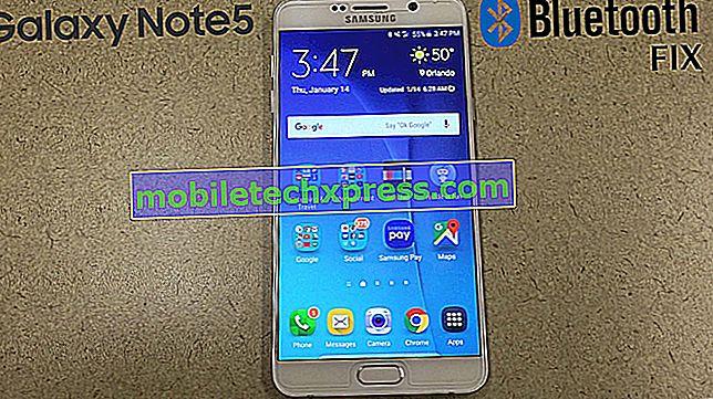 Samsung Galaxy Note 4 Problèmes, erreurs, problèmes, solutions et dépannage [Partie 5]