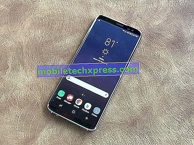 Samsung Galaxy S9 Stuck v optimalizaci aplikací po aktualizaci softwaru