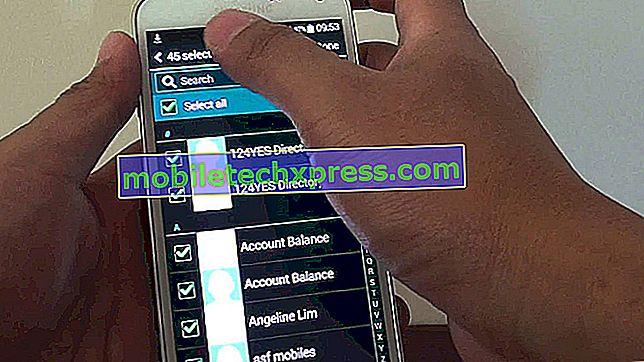 Sådan tilføjes SIM-kortkontakter til Lollipop Galaxy S5