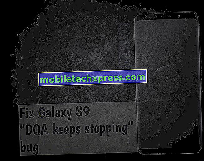 """Como consertar um bug do Galaxy S9 """"DQA continua parando"""" [guia de solução de problemas]"""