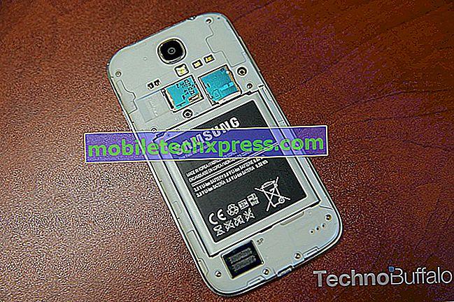 لا تعمل Samsung Galaxy S4 Camera والمشكلات الأخرى ذات الصلة
