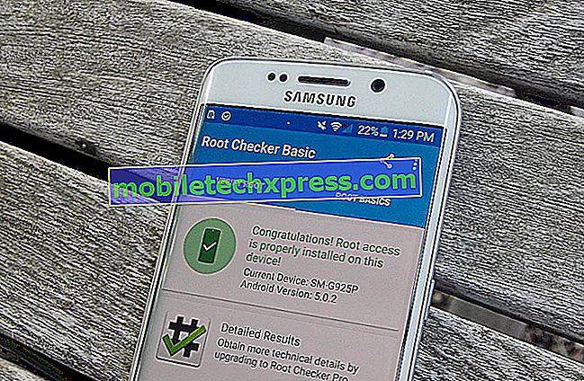 Samsung Galaxy S6 Edge Holder på genstart Problem og andre relaterede problemer