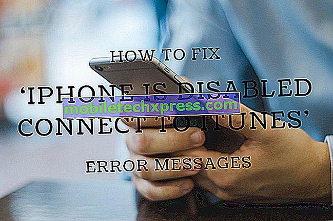 """Bagaimana untuk menyelesaikan masalah """"iPhone dilumpuhkan.  Sambung ke iTunes """"ralat"""